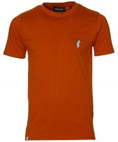 Anerkjendt t-shirt - slim fit - oranje