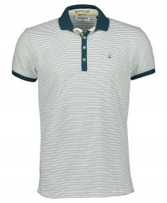 No Excess polo - modern fit - grijs