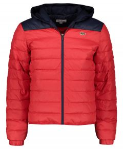 Lacoste jack - modern fit - rood