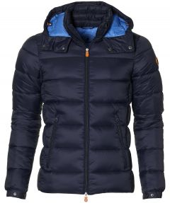 Save the Duck jack - slim fit - blauw