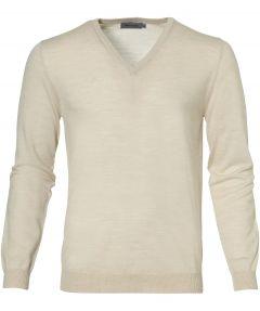 sale - Matinique pullover - slim fit - creme