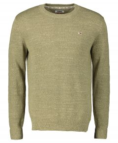 Tommy Jeans sweater- slim fit - groen