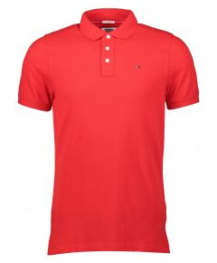 Tommy Jeans polo - slim fit - rood