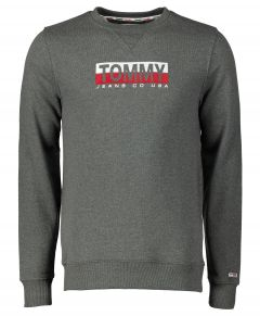 Tommy Jeans pullover - slim fit - grijs