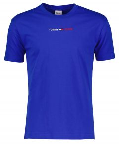 Tommy Jeans t-shirt - modern fit - blauw