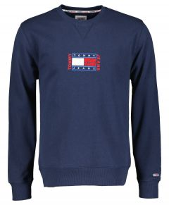 Tommy Jeans pullover - modern fit - blauw