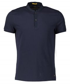 New in Town polo - slim fit - blauw