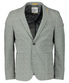 New In Town colber - slim fit - grijs