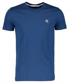 Calvin Klein t-shirt - slim fit - blauw