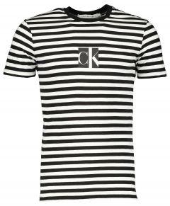 Calvin Klein t-shirt - slim fit - zwart