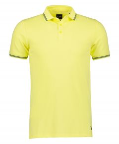 City Line by Nils polo - slim fit - geel