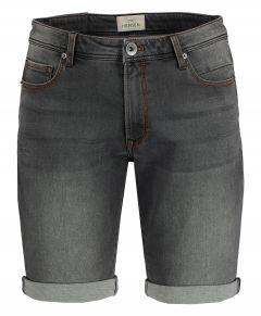 Hensen short - slim fit - grijs