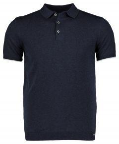 Gentiluomo polo - slim fit - blauw