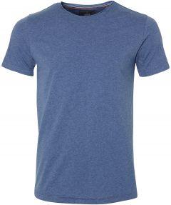 sale - Lion t-shirt - slim fit - blauw