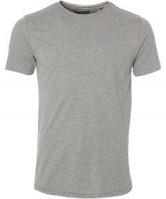 sale - Lion t-shirt - slim fit - grijs