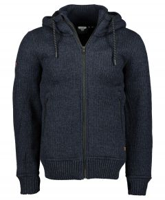 Superdry vest - slim fit - blauw