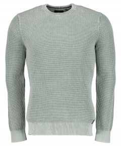 Superdry pullover - slim fit - groen