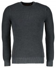Superdry pullover - slim fit - zwart