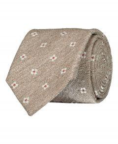 Jac Hensen Premium stropdas - beige