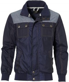 sale - Lion jack - modern fit - blauw