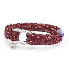 Pig & Hen armband - Gorgeous George - bordeau