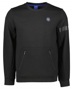 Qubz sweater - slim fit - zwart