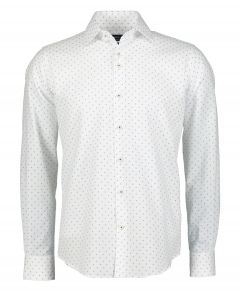 Gentiluomo overhemd - slim fit - wit
