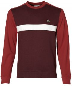 Lacoste pullover - slim fit - rood