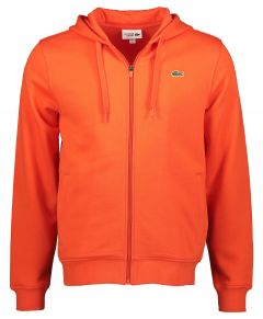 Lacoste vest - modern fit - oranje