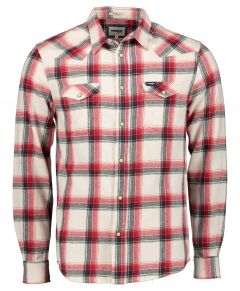 Wrangler overhemd - modern fit - creme