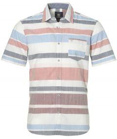 sale - Lerros overhemd - modern fit - blauw