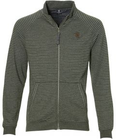 sale - Lerros vest - modern fit - groen