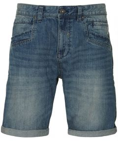 Lerros short - modern fit - blauw