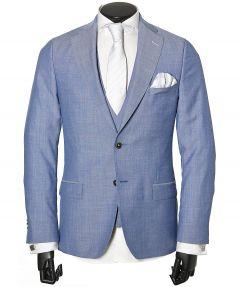 Studio Milano trouwkostuum - slim fit - blauw