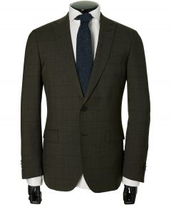 Jac Hensen Premium kostuum -modern fit-groen