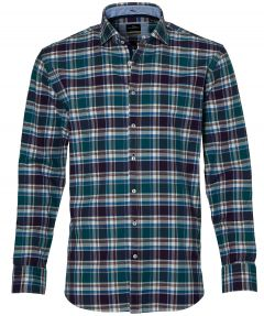 Jac Hensen overhemd - regular fit - groen