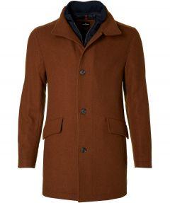 Jac Hensen jas - modern fit - bruin