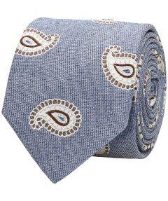 Sale - Jac Hensen Premium stropdas - blauw