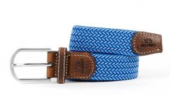 Billybelt elastische riem - blauw