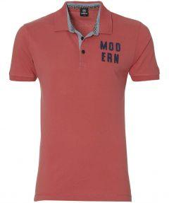 Lerros polo - modern fit - roze