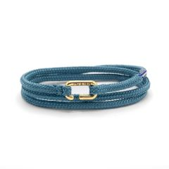 Pig & Hen armband - Savage Sam - blauw