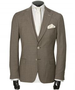 Studio Milano trouwkostuum - slim fit - beige