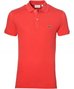Lacoste polo - slim fit - rood