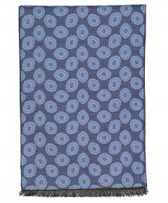 Michaelis shawl - blauw