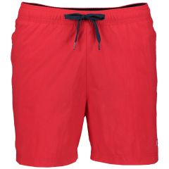 Tommy Jeans zwemshort - slim fit - rood