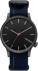 Komono horloge Winston Regal - blauw