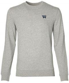 Wrangler pullover - modern fit - grijs