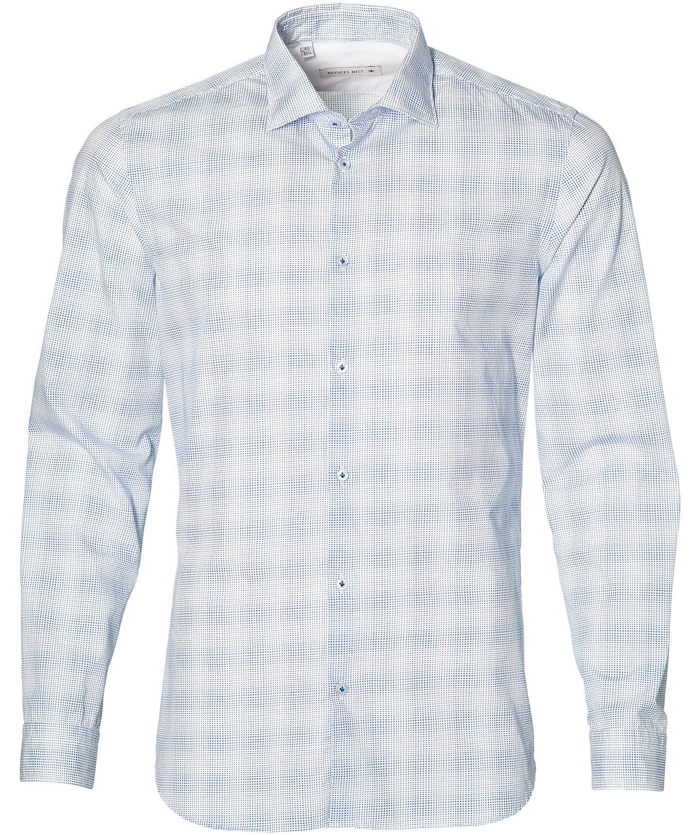 Manuel Ritz Overhemd - Slim Fit - Wit