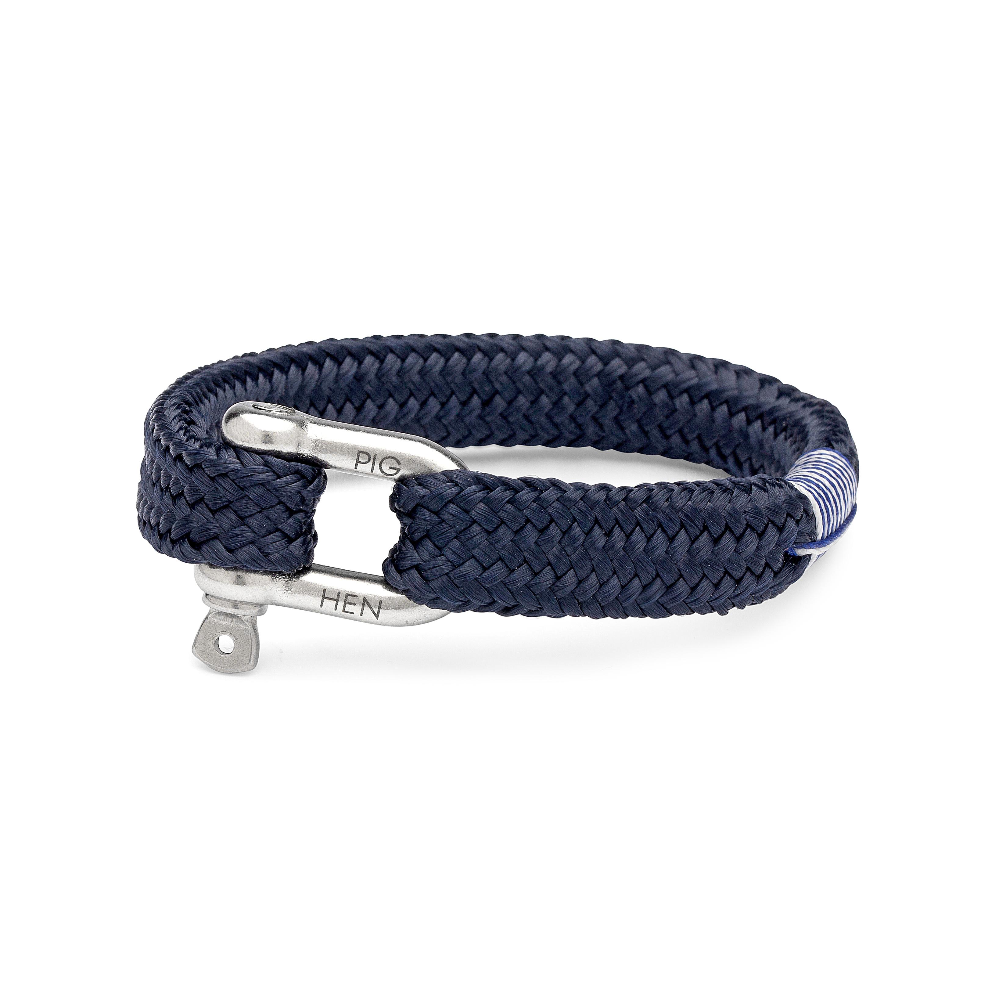 Pig & Hen Armband Blauw