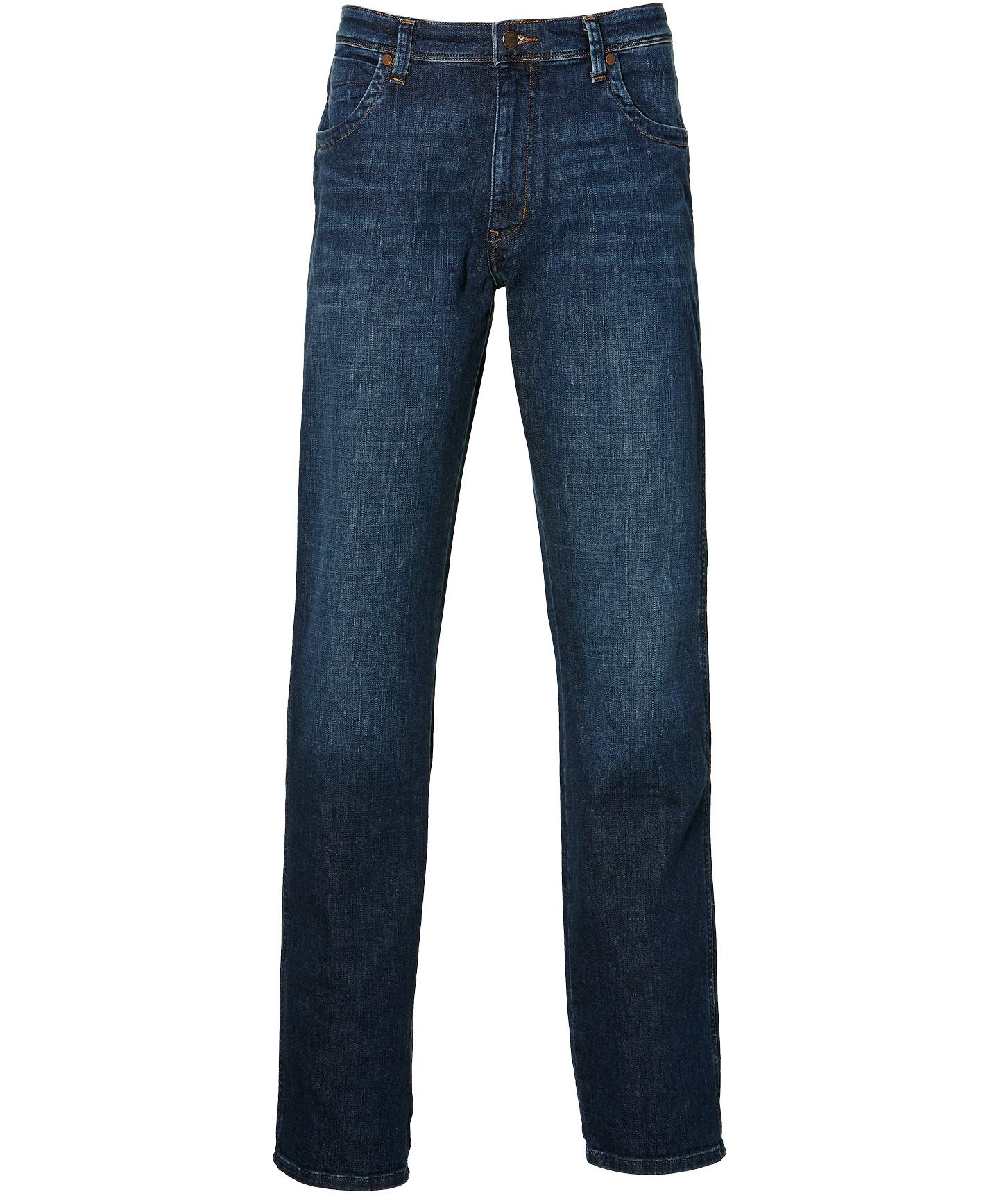Wrangler Jeans Texas - Regular Fit - Blauw